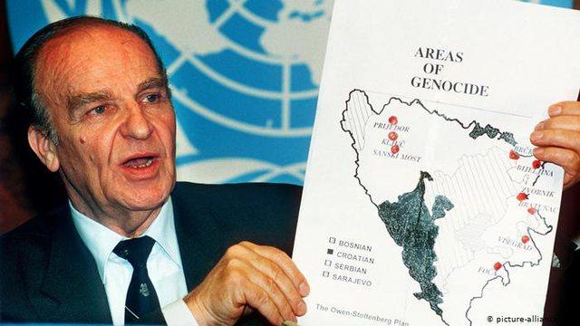 Loja e keqe e vjetër me hartat në Ballkanin Perëndimor