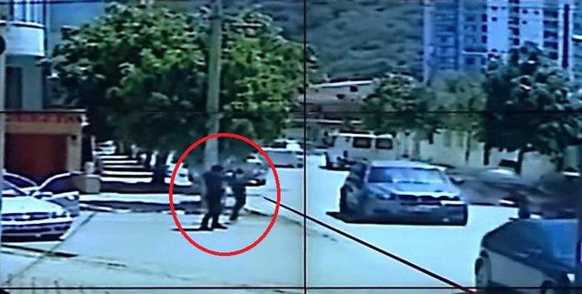 """VIDEO/ Momenti i vrasjes së """"The Boss"""" në Vlorë,"""