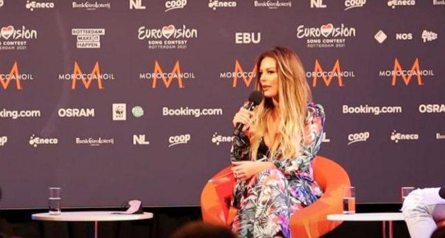 """U kualifikua për finalen e """"Eurovision""""-it/ Anxhela Peristeri:"""