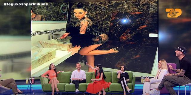 """Në ekran shfaqet poza """"hot"""" e modeles shqiptare,"""