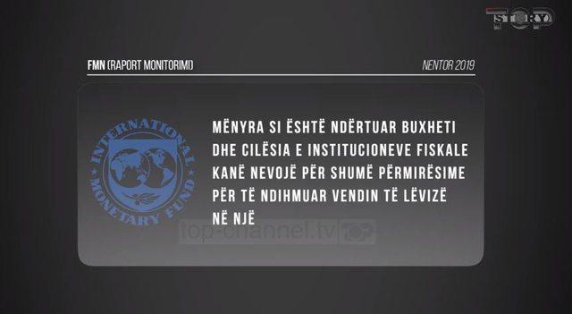 Top Story / FMN, raporti: Institucionet fiskale të Shqipërisë