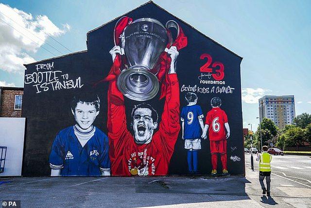 Zbulohet piktura murale e pabesueshme e legjendës së futbollistit