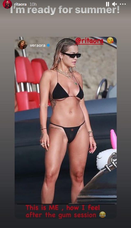 """""""Jam gati për verë"""", Rita Ora mjaft seksi me bikini (FOTO)"""