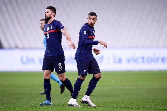 Tensionet te Franca, grindje mes Mbappe dhe Giroud para nisjes së Euro 2020