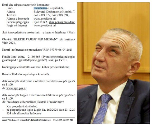 Meta nuk pyet për shkarkimin nga Parlamenti,  hap tender 20 milion