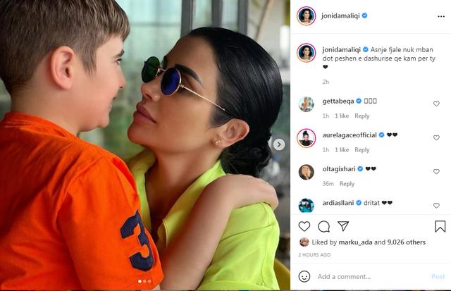 Jonida Maliqi poston fotot e ëmbla me të birin: Asnjë fjalë