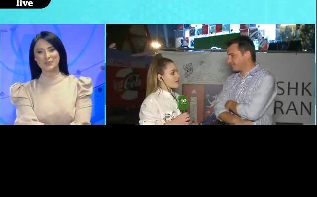 """Euro2020/ Veliaj flet për """"Jashtë Loje"""" nga Tirana Fan Zone:"""