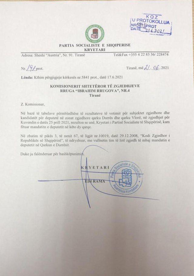 """Rama """"braktis"""" Vlorën pas dy mandatesh, në Kuvendin e ri do"""