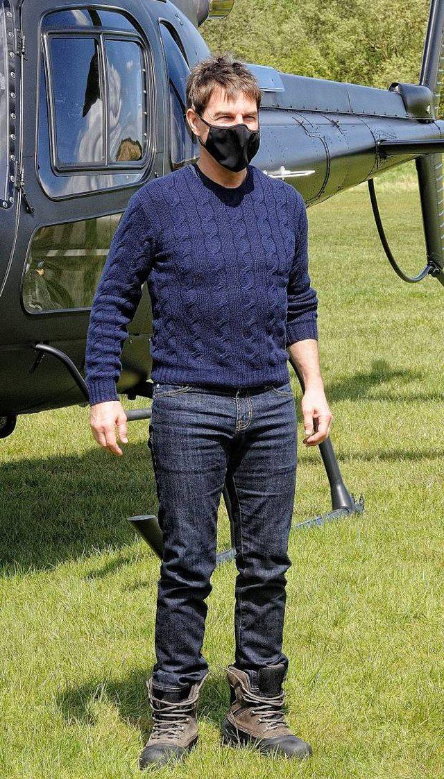 """Covid prek Tom Cruise? """"Mission Impossible 7"""" kthehet në një"""