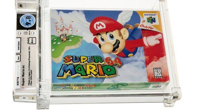 """""""Super Mario"""" thyen rekord, bëhet loja më e shtrenjtë"""