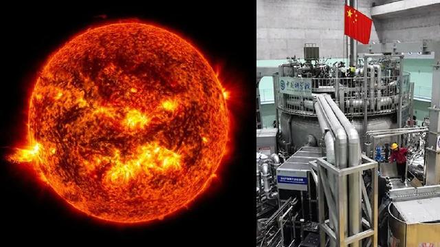 """Dielli artificial"" i Kinës arrin temperaturën 120"