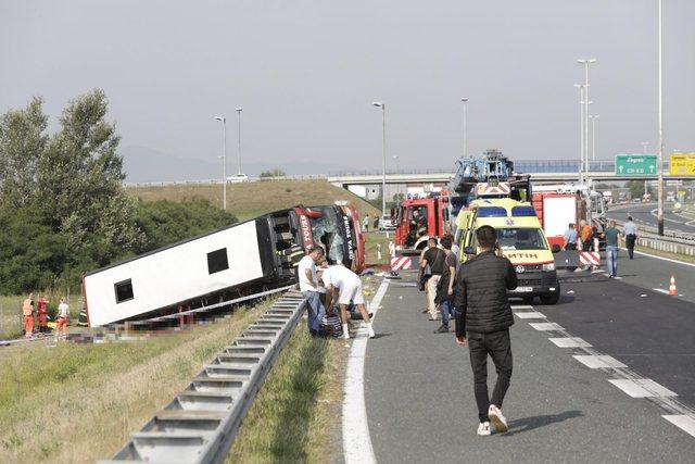 Aksidenti tragjik/ Autobusi fluturoi, vdekja e 10 shqiptarëve, shefi i