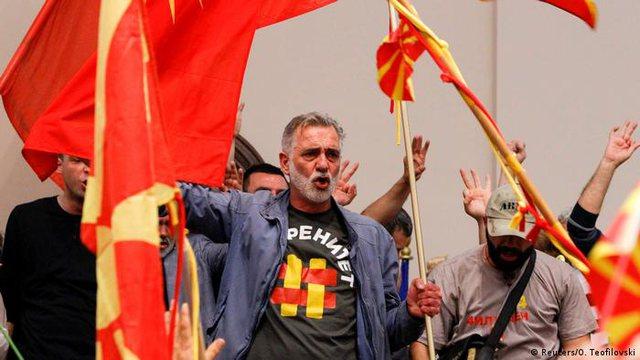 Shkup: Dënohet ish-kryetari i Kuvendit për sulmet e 27 prillit 2017