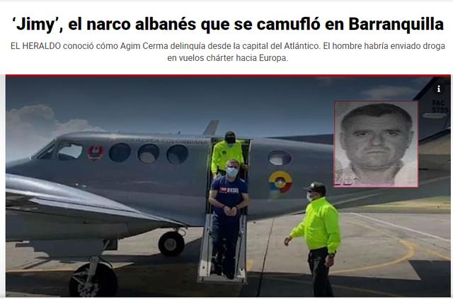 Mediat kolumbiane PROFIL të plotë Agim Çermës, nga Lushnja