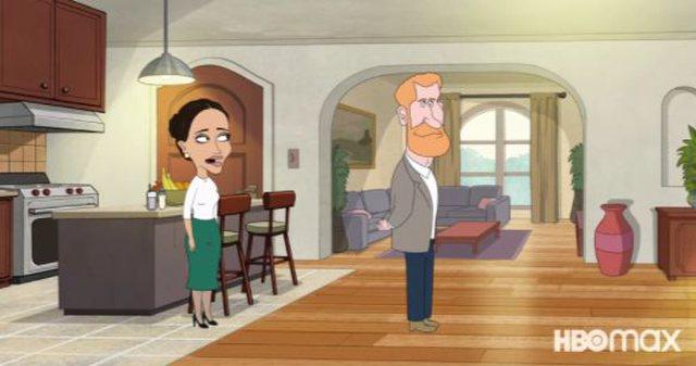 Filmi për Princ Harry-n, një komedi vizatimore zbërthen
