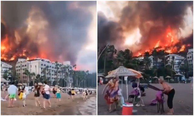 Pamje TMERRI në Turqi/ Zjarret masive përfshijnë vendet