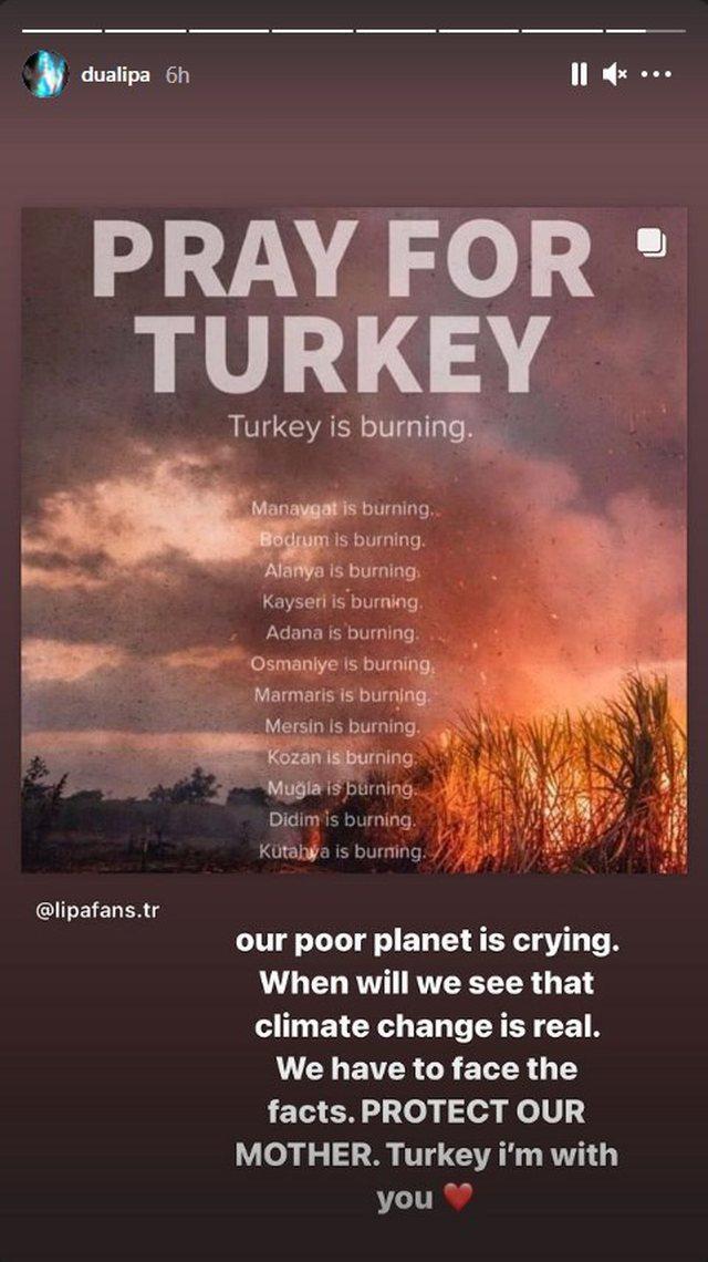 """""""Lutemi për Turqinë""""! Dua Lipa nga Shqipëria: Planeti"""