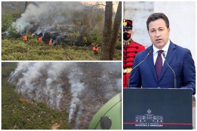 """Shqipëria nën """"pushtetin"""" e flakëve! Ministria e"""