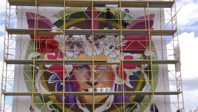 """Rikthehet """"Mural Fest""""/ 20 artistë nga vende të ndryshme"""
