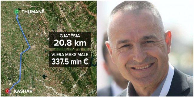Koncesioni më i shtrenjtë/ 21 kilometra rrugë me koston 54,4
