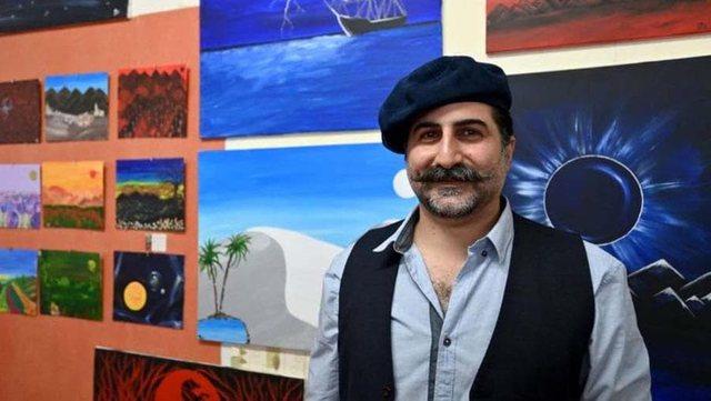 Një djalë artist i Osama bin Laden / Omar, piktori i fshehur në