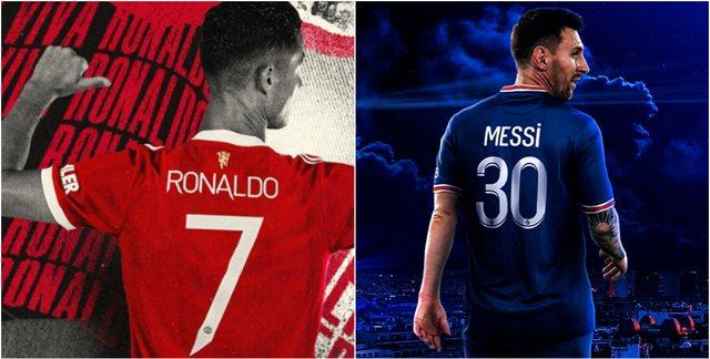 Kush shiti më shumë fanela, Cristiano Ronaldo apo Leo Messi? Media