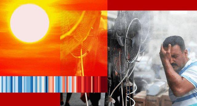 Rreziku që i kanoset njerëzimit, ditët me temperatura mbi 50