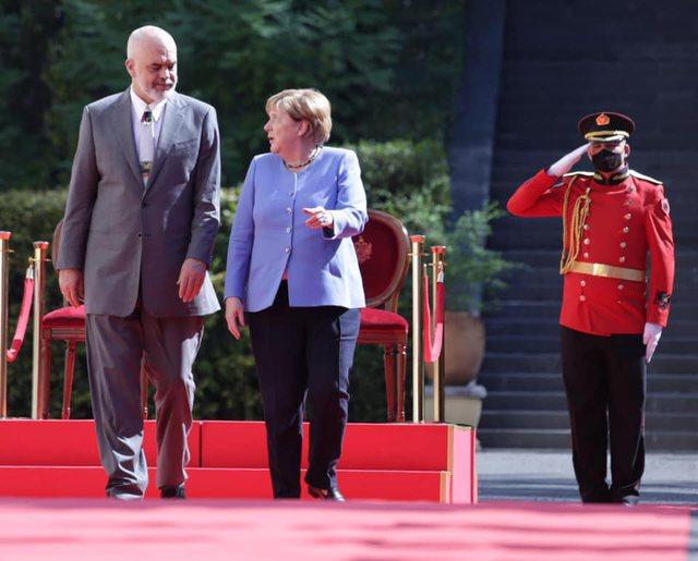Merkel në Tiranë, nën radarin e BE–së!