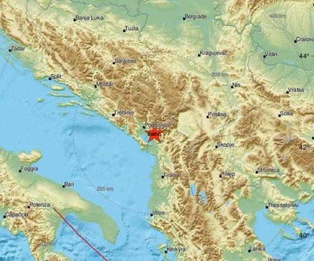 """Tërmeti që """"lëkundi"""" veriun e Shqipërisë!"""