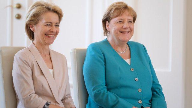 """BE """"ngulet"""" në Ballkan/ Pas Merkel, Presidentja e KE-së"""