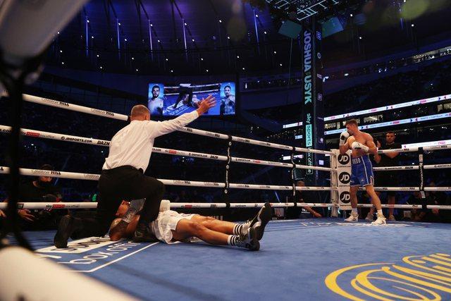 Pas ndeshjes së Florian Markut, boksieri dridhet dhe përfundon në