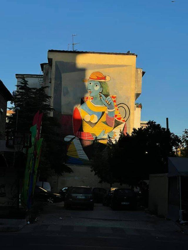 Mbyllet Mural Fest 2021, ja disa nga veprat që zbukuruan fasadat e