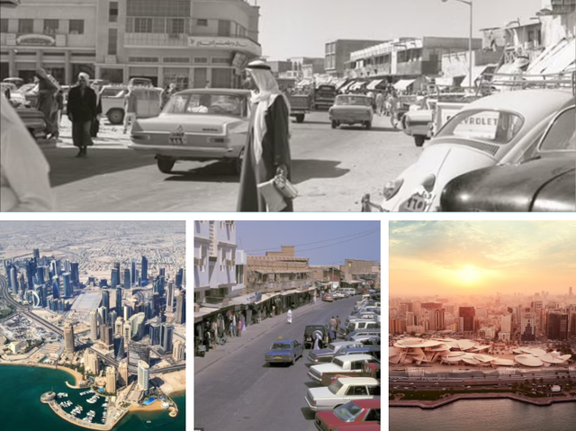 Transformimi magjepsës i Katarit gjatë 50 viteve të fundit, fotot