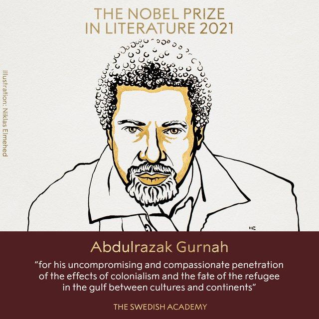 Shkrimtari Abdulrazak Gurnah fiton çmimin Nobel në Letërsi