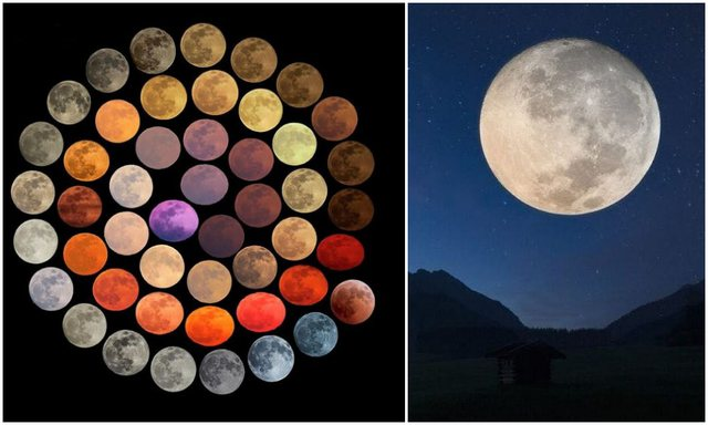 Fotografja shpenzon 10 vite për të kapur Hënën në 48
