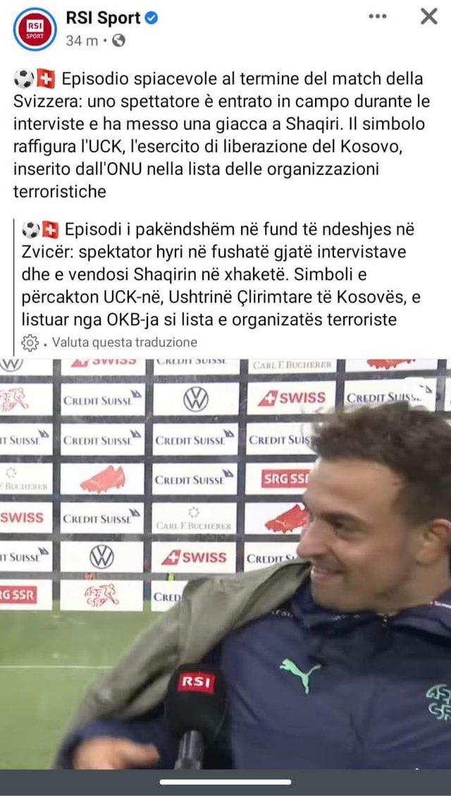 E turpshme! Televizioni zviceran e quajti UÇK-në organizatë