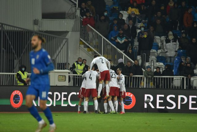 """Kosova prek fundin e grupit / E mposht edhe Gjeorgjia në """"Fadil"""