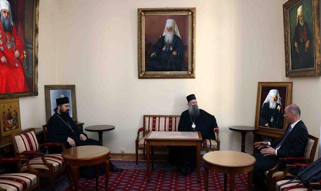 FOTO/ Ambasadori i ri i Serbisë, paraqitet te Meta, por më parë