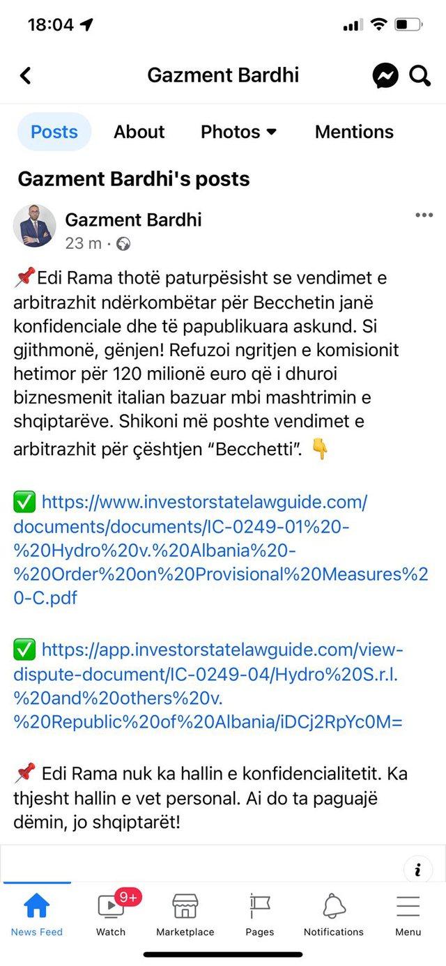 PS refuzoi ngritjen e komisionit Hetimor, PD publikon faqen zyrtare të