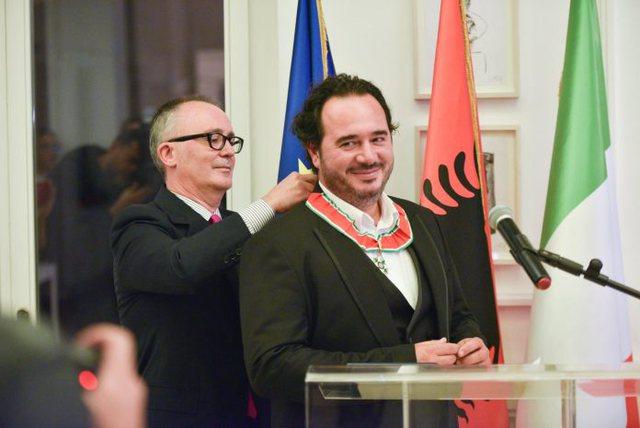 U dekorua nga presidenti i Italisë, virtuozi Olen Cesari rrëfen