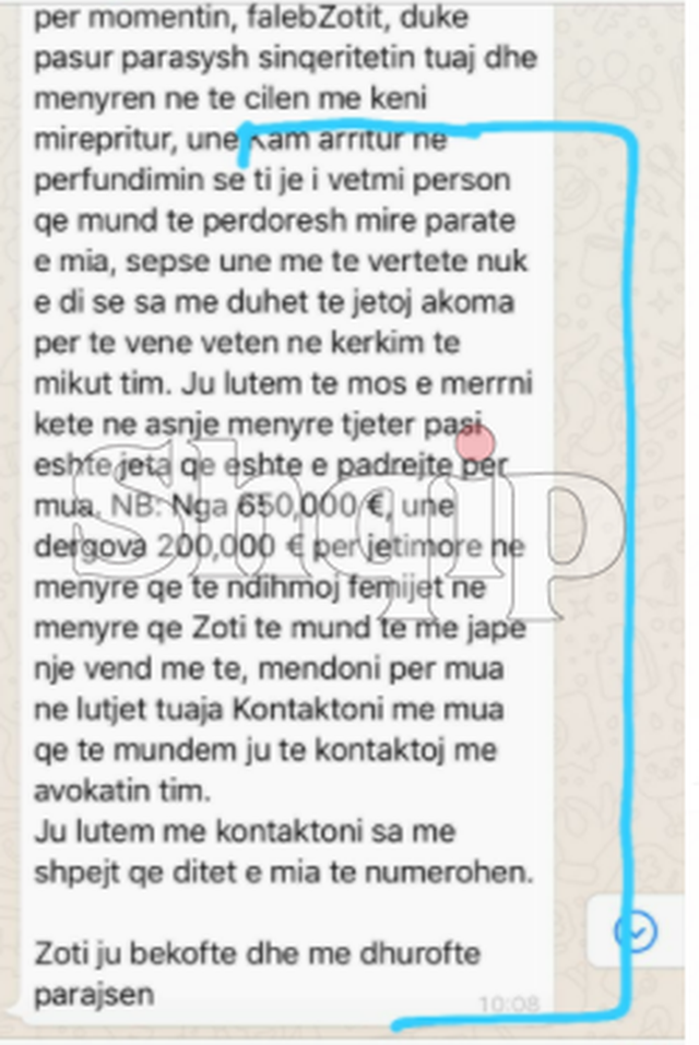 'Jeni trashëgimtar i 2.5 milionë euro, Zoti më drejtoi tek
