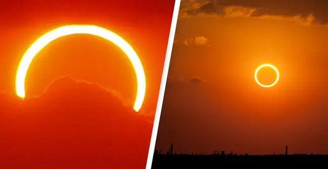 """Sot me sytë nga qielli/ Eklipsi i """"Unazës së Zjarrit"""""""