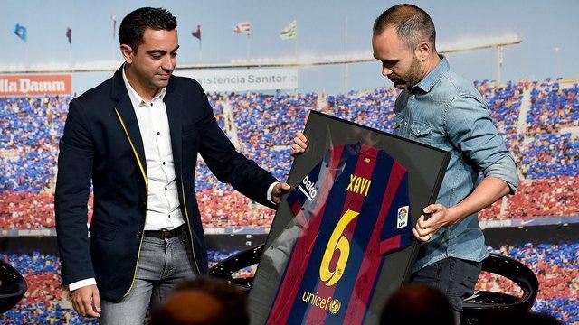 Iniesta jep lajmin e madh: Xavi është gati për stolin e
