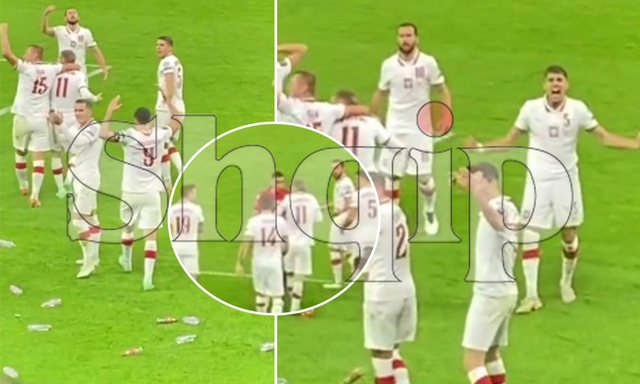 PAMJE nga tifozët/ A provokuan lojtarët polakë?! Roshi i vetmi