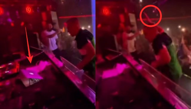 DJ vë padashje këngën e Noizy-t/ Don Xhoni nxehet e i