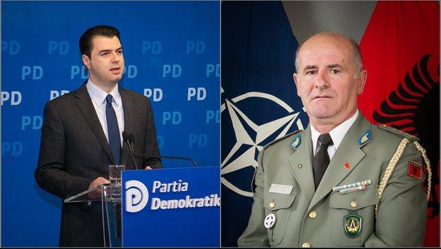 Zbulohet letra/ U la jashtë listave të PD, gjeneral Ahmetaj