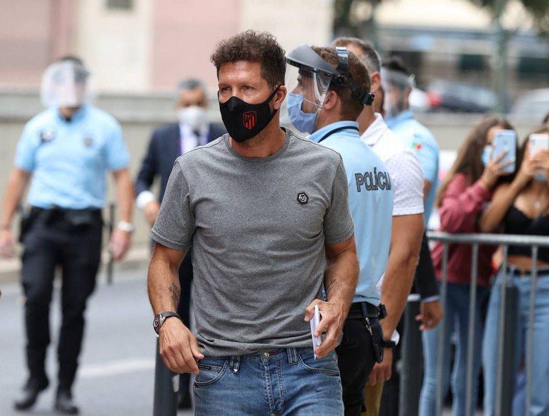 Trajneri i Atletico Madrid, Diego Simone, del pozitiv me Coronavirus