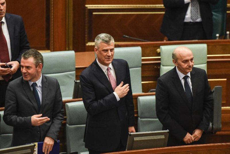 Hashim Thaçi, President i Kosovës me 71 vota pas tri raunde votimesh