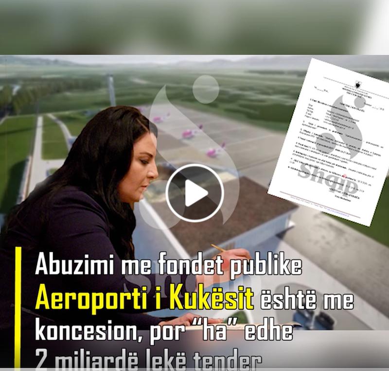 Abuzimi me fondet publike/ Aeroporti i Kukësit është me