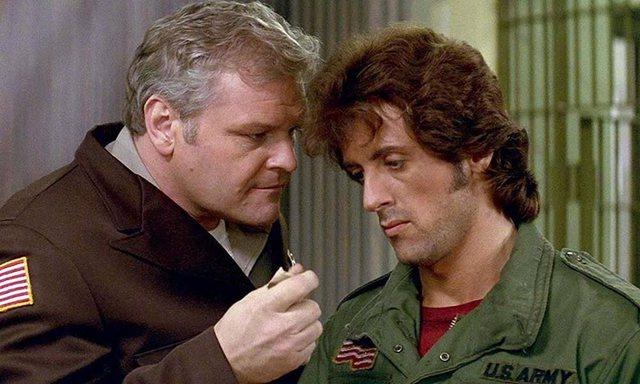 """Vdes aktori i njohur amerikan, luajti te filmi """"Rambo I"""""""